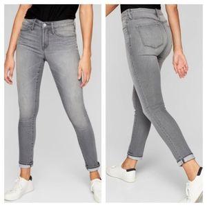Athleta Sculptek Skinny Jeans in Gray